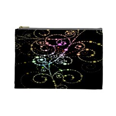 Sparkle Design Cosmetic Bag (large)  by BangZart