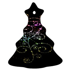 Sparkle Design Christmas Tree Ornament (two Sides) by BangZart