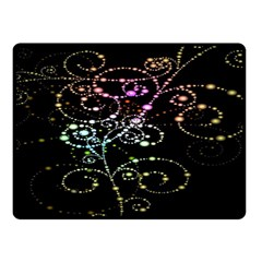 Sparkle Design Double Sided Fleece Blanket (small)  by BangZart