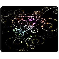 Sparkle Design Double Sided Fleece Blanket (medium)