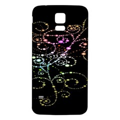 Sparkle Design Samsung Galaxy S5 Back Case (white)