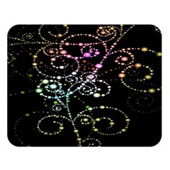 Sparkle Design Double Sided Flano Blanket (large)