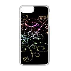 Sparkle Design Apple Iphone 7 Plus White Seamless Case by BangZart