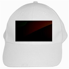 Color Vague Abstraction White Cap by BangZart