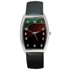 Color Vague Abstraction Barrel Style Metal Watch by BangZart