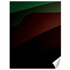 Color Vague Abstraction Canvas 36  X 48