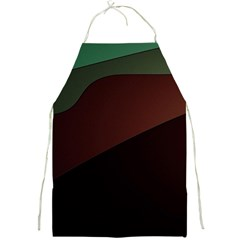 Color Vague Abstraction Full Print Aprons