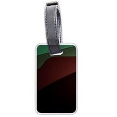 Color Vague Abstraction Luggage Tags (two Sides)