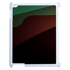 Color Vague Abstraction Apple Ipad 2 Case (white) by BangZart