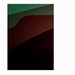 Color Vague Abstraction Large Garden Flag (two Sides) by BangZart