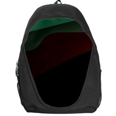 Color Vague Abstraction Backpack Bag by BangZart