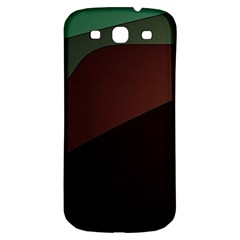 Color Vague Abstraction Samsung Galaxy S3 S Iii Classic Hardshell Back Case by BangZart