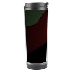 Color Vague Abstraction Travel Tumbler by BangZart