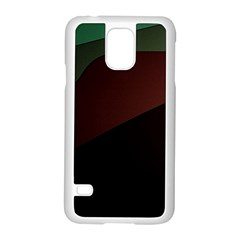 Color Vague Abstraction Samsung Galaxy S5 Case (white)
