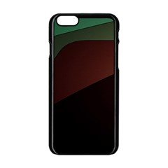 Color Vague Abstraction Apple Iphone 6/6s Black Enamel Case by BangZart