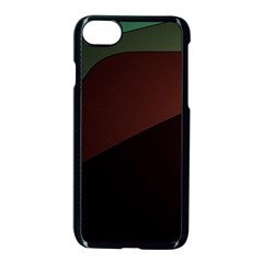 Color Vague Abstraction Apple Iphone 7 Seamless Case (black)