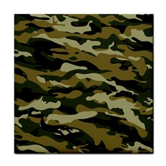 Military Vector Pattern Texture Tile Coasters