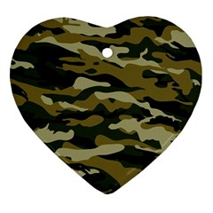 Military Vector Pattern Texture Ornament (heart)