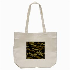 Military Vector Pattern Texture Tote Bag (cream) by BangZart