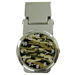 Military Vector Pattern Texture Money Clip Watches by BangZart