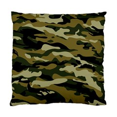 Military Vector Pattern Texture Standard Cushion Case (two Sides) by BangZart