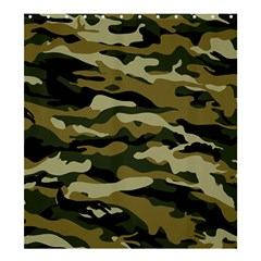 Military Vector Pattern Texture Shower Curtain 66  X 72  (large)  by BangZart