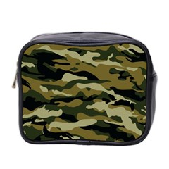 Military Vector Pattern Texture Mini Toiletries Bag 2 Side by BangZart