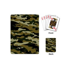 Military Vector Pattern Texture Playing Cards (mini)