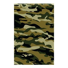 Military Vector Pattern Texture Shower Curtain 48  X 72  (small)