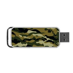Military Vector Pattern Texture Portable Usb Flash (one Side) by BangZart