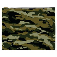 Military Vector Pattern Texture Cosmetic Bag (xxxl)