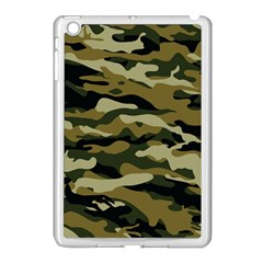 Military Vector Pattern Texture Apple Ipad Mini Case (white) by BangZart