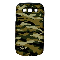 Military Vector Pattern Texture Samsung Galaxy S Iii Classic Hardshell Case (pc+silicone) by BangZart