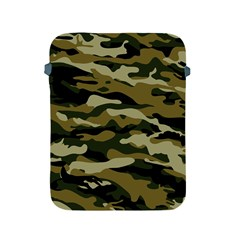 Military Vector Pattern Texture Apple Ipad 2/3/4 Protective Soft Cases by BangZart