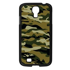 Military Vector Pattern Texture Samsung Galaxy S4 I9500/ I9505 Case (black) by BangZart
