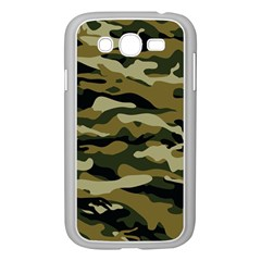 Military Vector Pattern Texture Samsung Galaxy Grand Duos I9082 Case (white) by BangZart