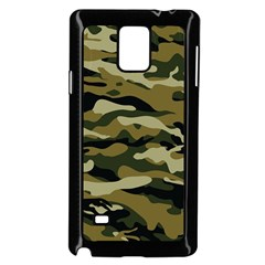 Military Vector Pattern Texture Samsung Galaxy Note 4 Case (black)
