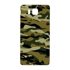 Military Vector Pattern Texture Samsung Galaxy Alpha Hardshell Back Case by BangZart
