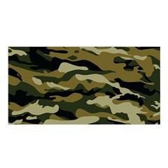 Military Vector Pattern Texture Satin Shawl