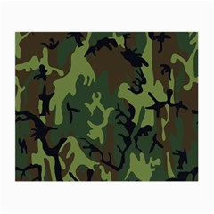 Military Camouflage Pattern Small Glasses Cloth by BangZart