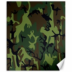 Military Camouflage Pattern Canvas 20  X 24   by BangZart