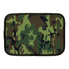 Military Camouflage Pattern Netbook Case (medium)