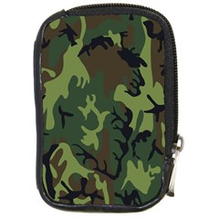Military Camouflage Pattern Compact Camera Cases by BangZart