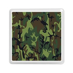 Military Camouflage Pattern Memory Card Reader (square)