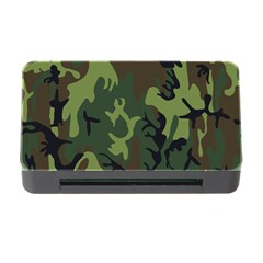 Military Camouflage Pattern Memory Card Reader With Cf by BangZart
