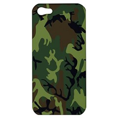 Military Camouflage Pattern Apple Iphone 5 Hardshell Case
