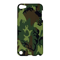 Military Camouflage Pattern Apple Ipod Touch 5 Hardshell Case by BangZart