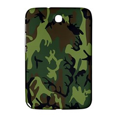 Military Camouflage Pattern Samsung Galaxy Note 8 0 N5100 Hardshell Case  by BangZart