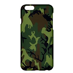Military Camouflage Pattern Apple Iphone 6 Plus/6s Plus Hardshell Case by BangZart