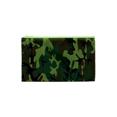 Military Camouflage Pattern Cosmetic Bag (xs) by BangZart